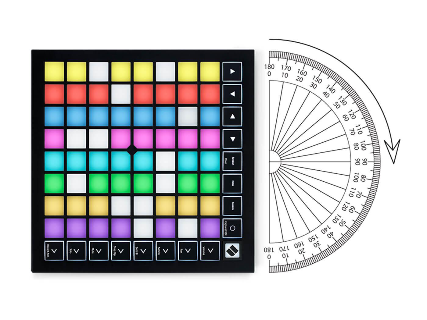 Logic Pro X Novation Launchpad