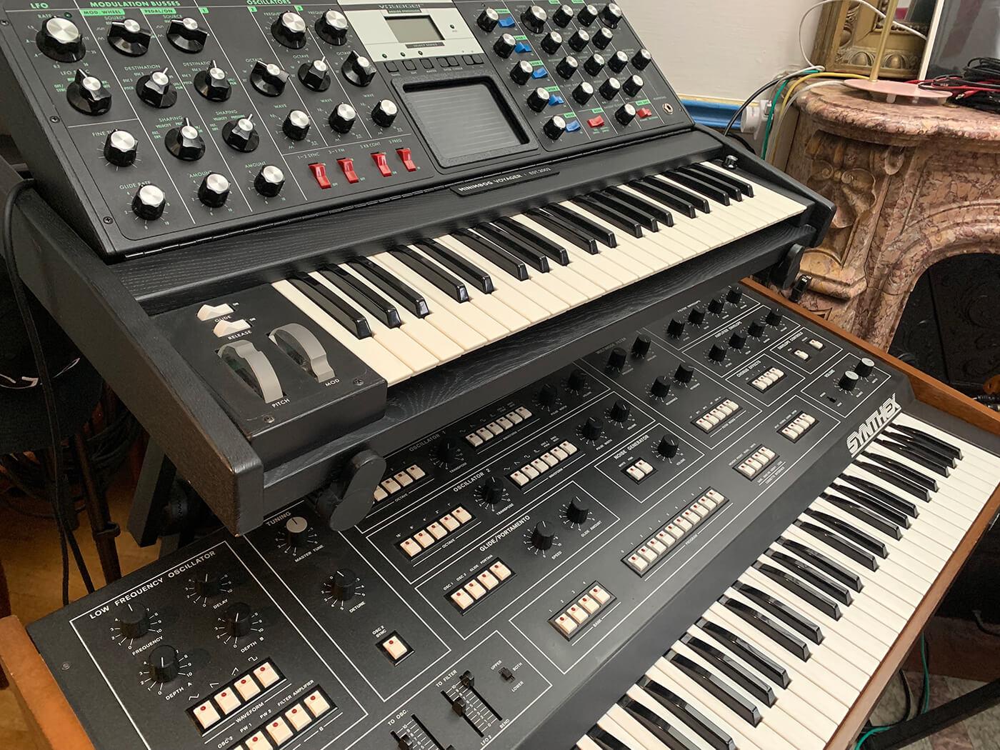 Rodriguez Jr's Elka Synthex & MOOG Voyager