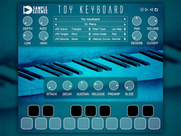 Toy Keyboard v2 Sample Science