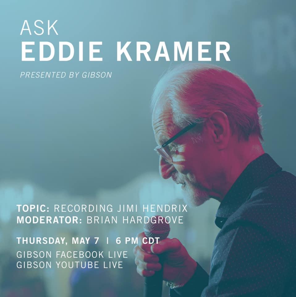 Eddie Kramer Gibson Promo