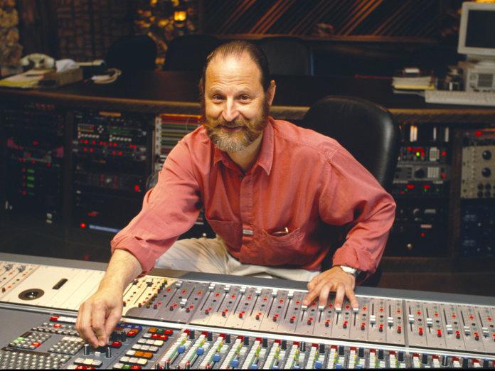 Eddie Kramer behind the mixing desk