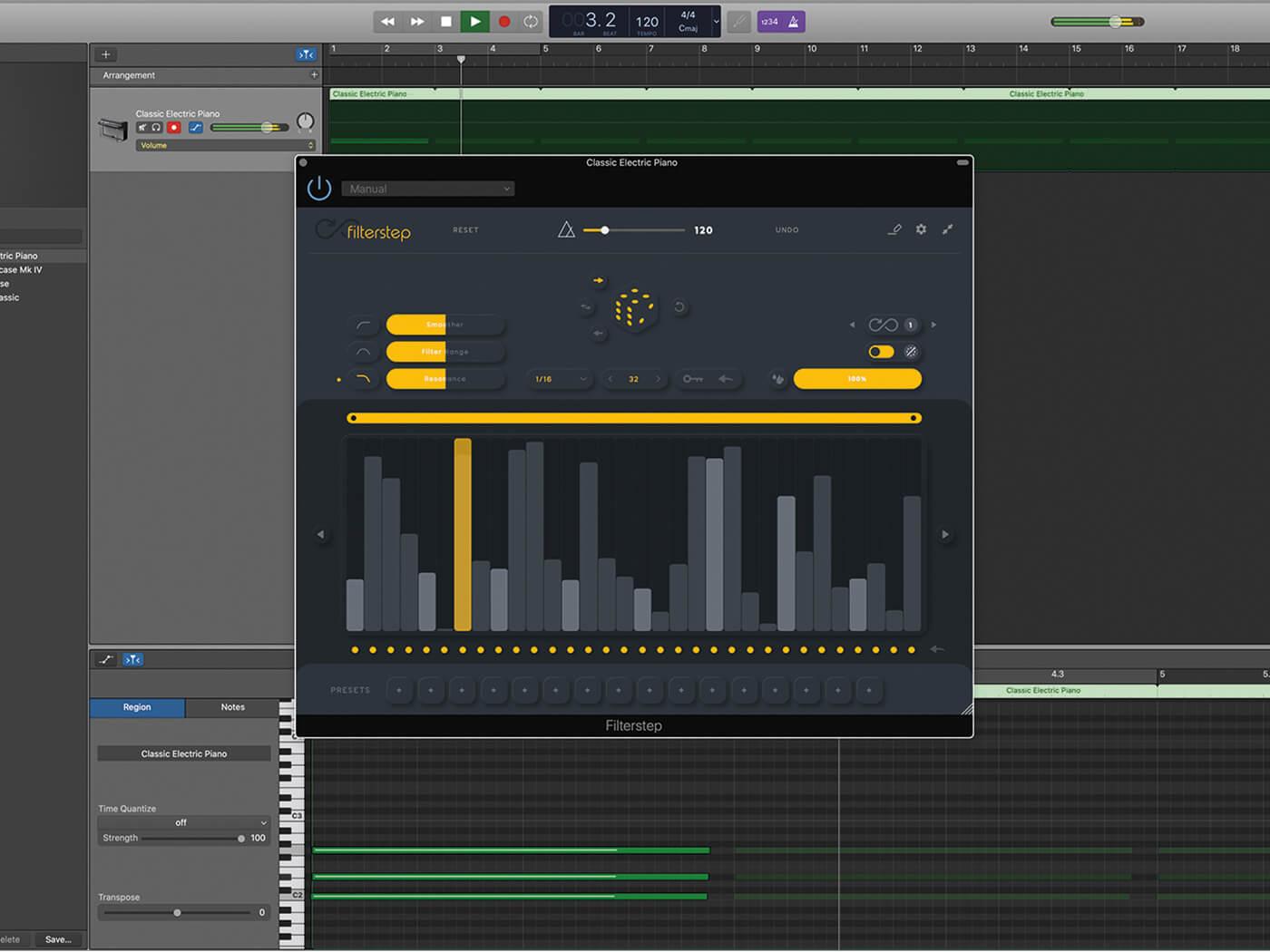 Audiomodern Filterstep