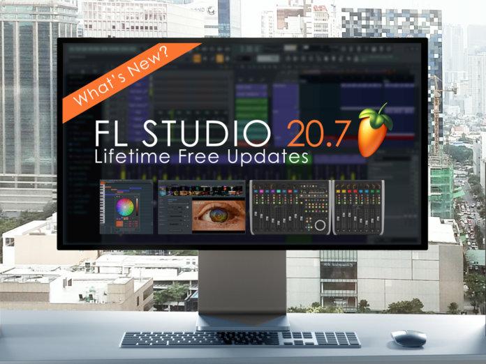 FL Studio 20.7 Update promo