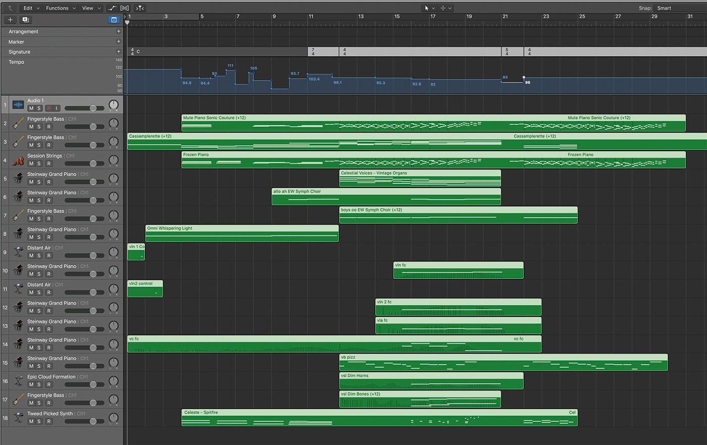 MIDI File w Tempo Changes
