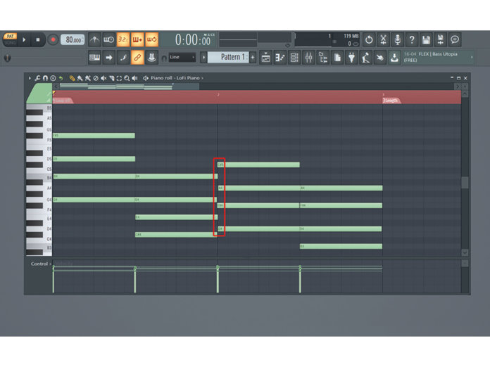 MT208 FLT Studio Lo-Fi Beats TUT