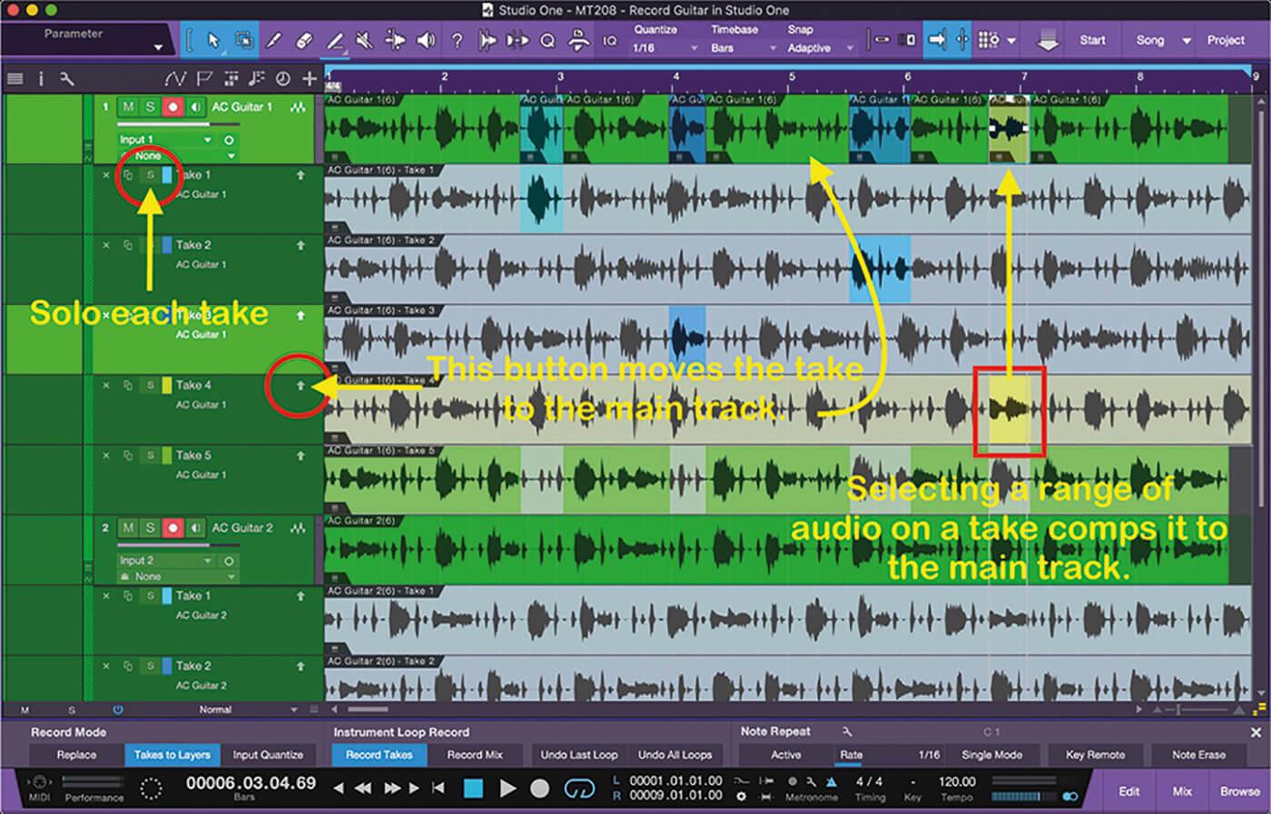 Recording Guitars In Studio One 17