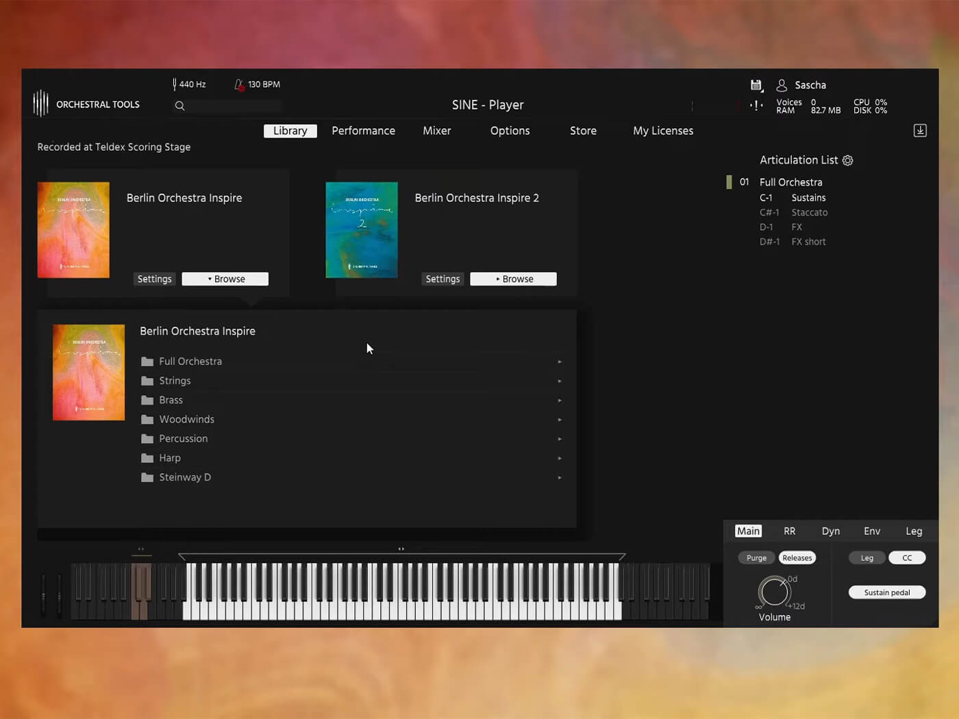 Orchestral Tools Inspire 1