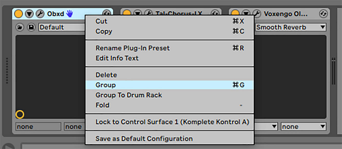 P27 - Create group in Ableton