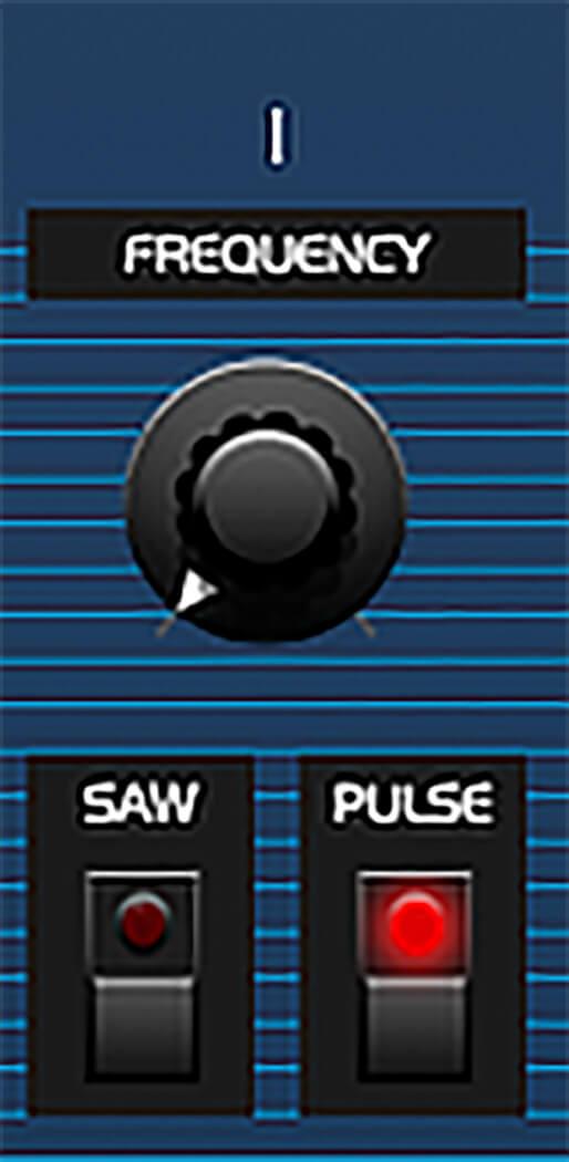 P9 - Osc1 Pulse tone