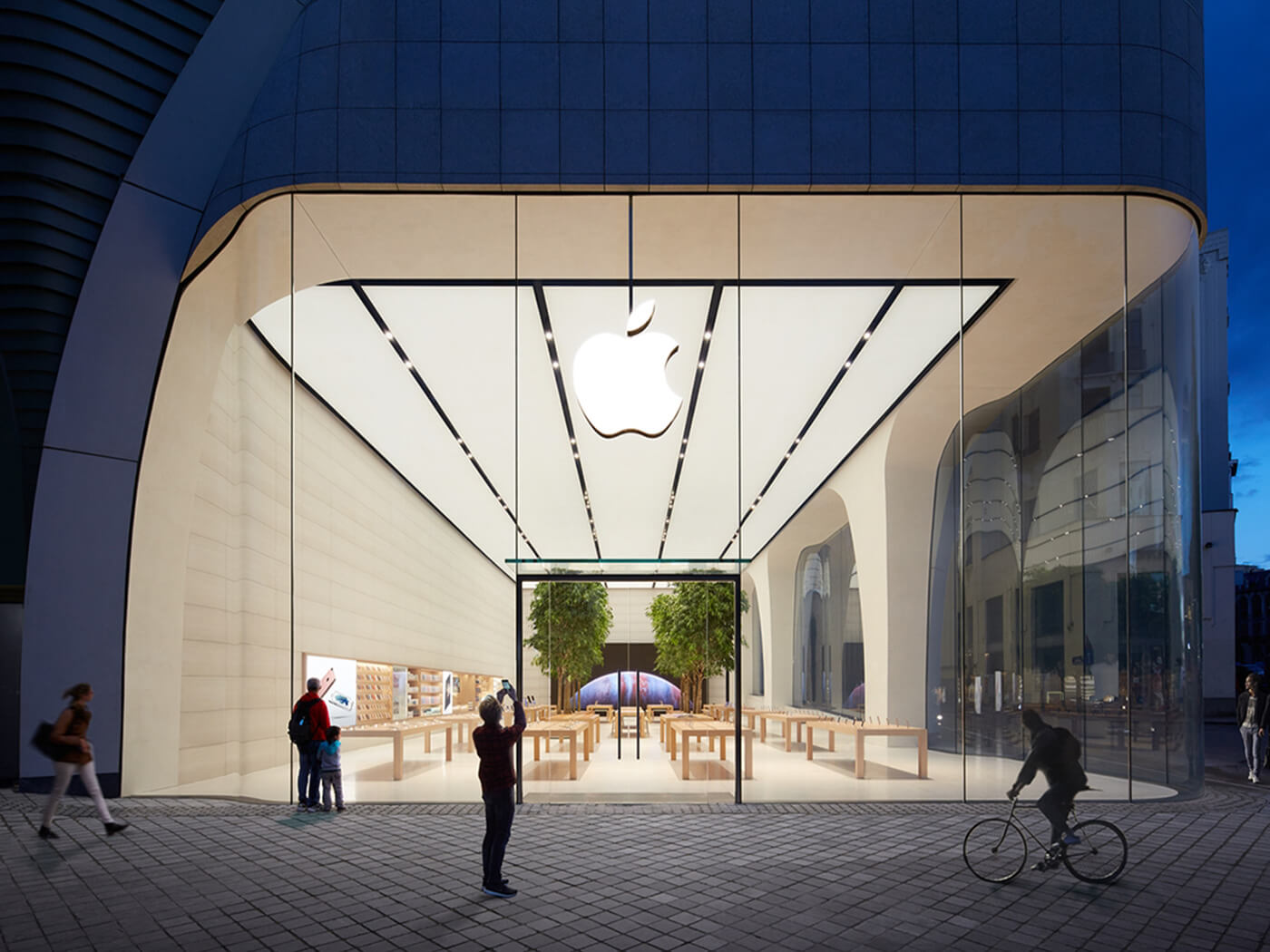 The Apple Store in Brussels