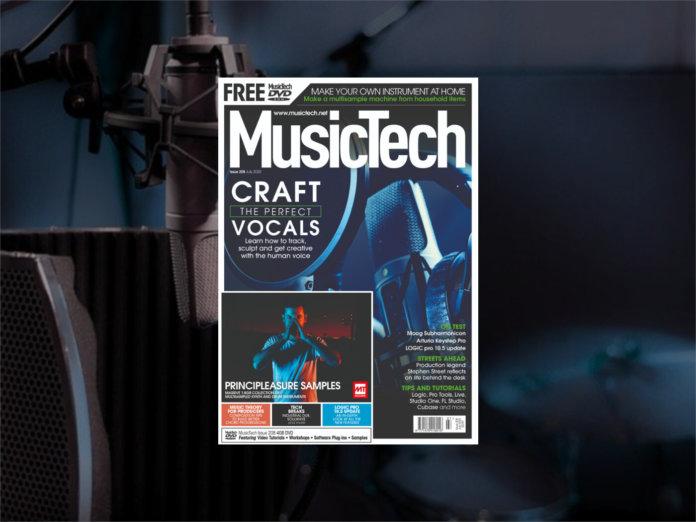 musictech july issue 208