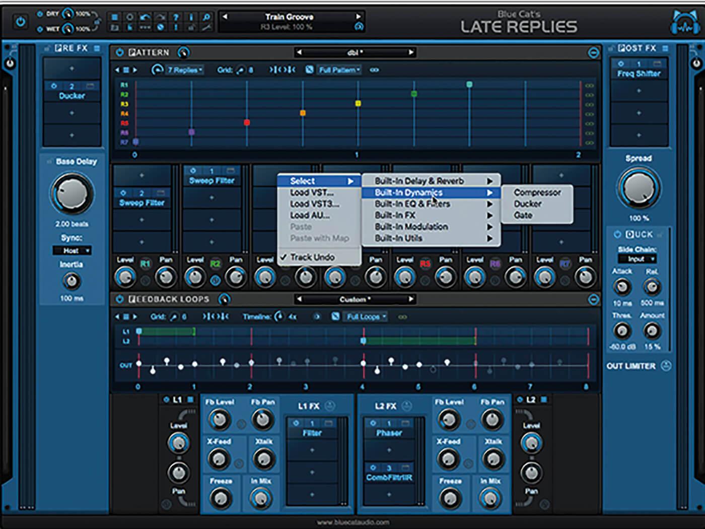 Blue Cat Audio Late Replies