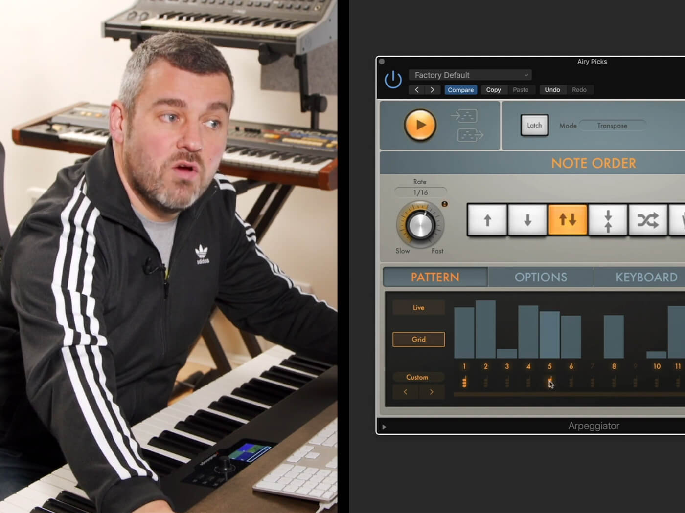 Learn how to sequence your sounds with Logic Pro X's Arpeggiator | MusicTech