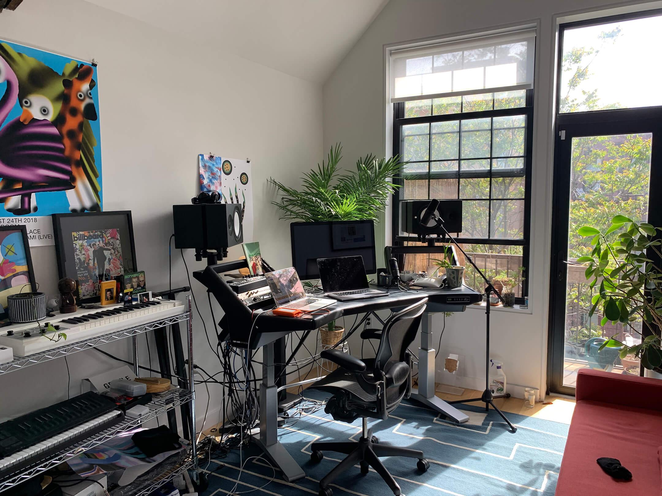 Bauuer Big Interview - Home Studio