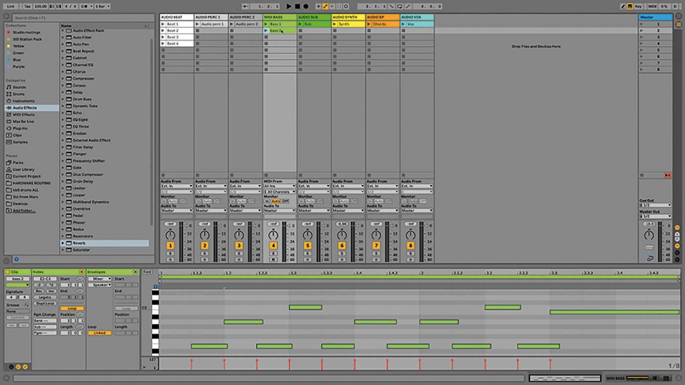 MT209 Ableton TUT Live Arrangement 1
