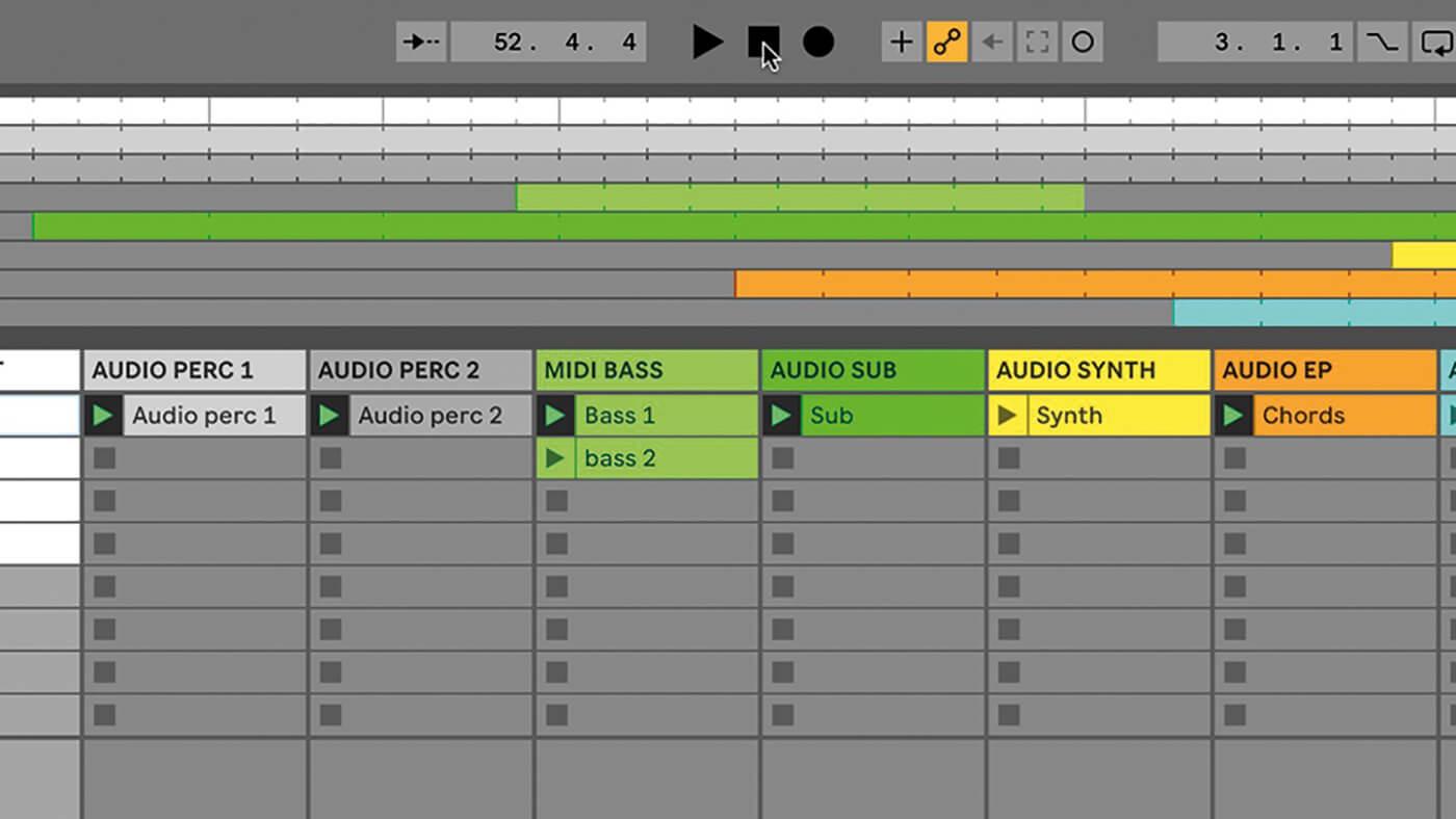 MT209 Ableton TUT Live Arrangement 11