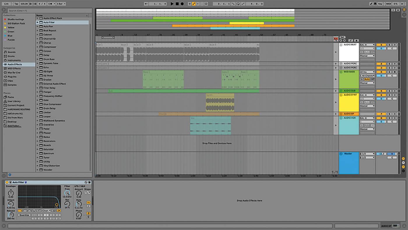 MT209 Ableton TUT Live Arrangement 12