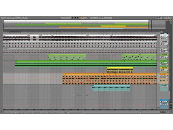 MT209 Ableton TUT Live Arrangement