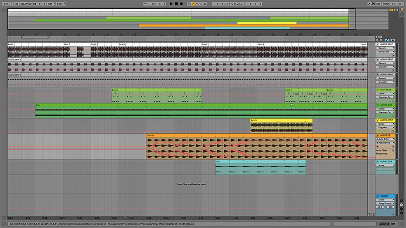MT209 Ableton TUT Live Arrangement 16