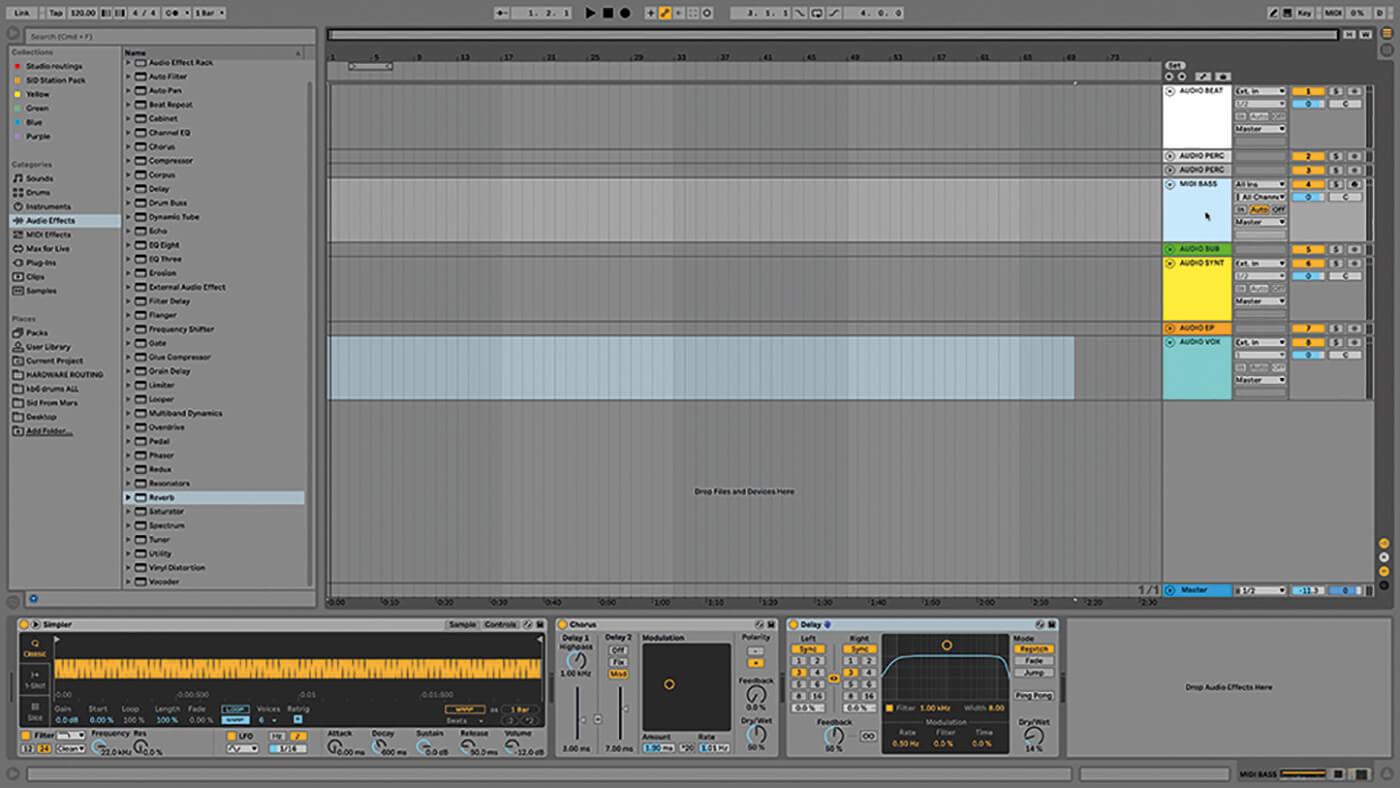 MT209 Ableton TUT Live Arrangement 2