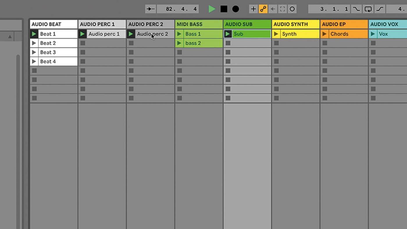 MT209 Ableton TUT Live Arrangement 8