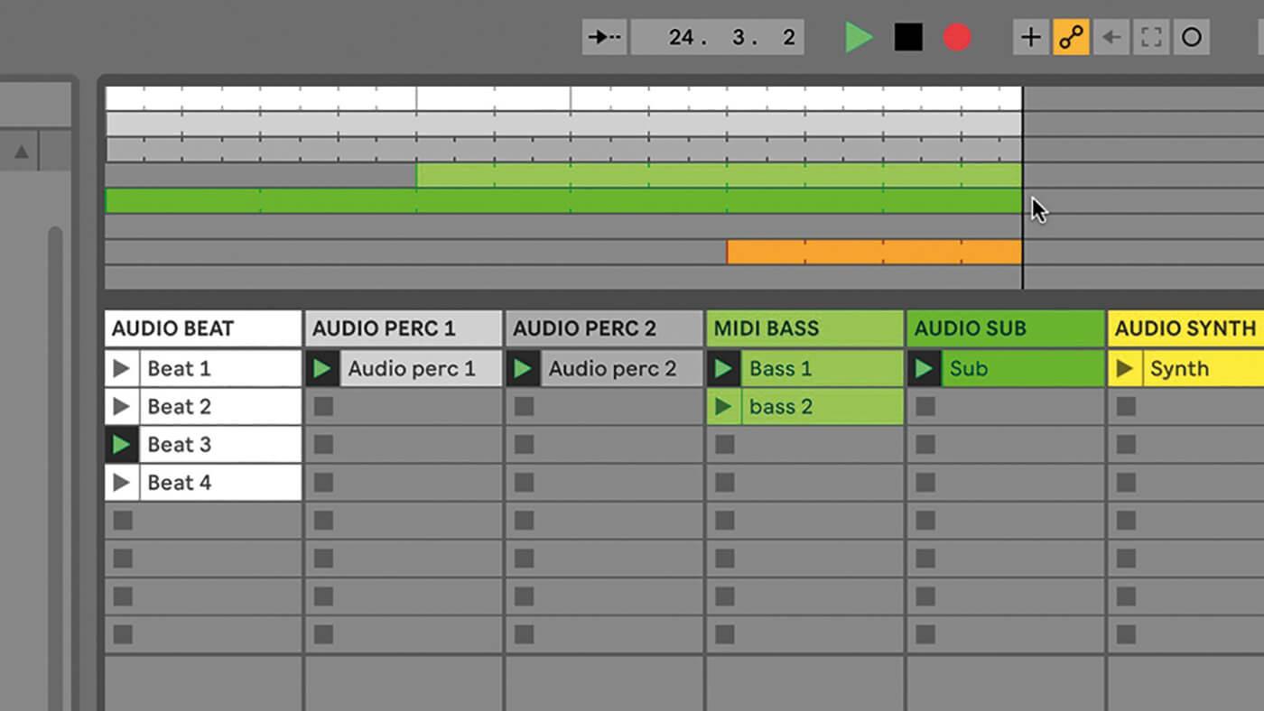 MT209 Ableton TUT Live Arrangement 9
