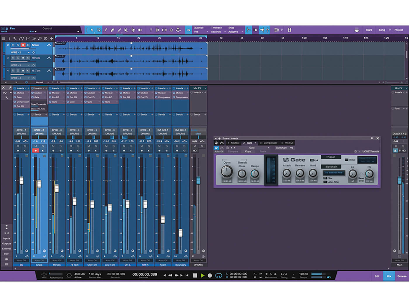 How to capture live drums with Studio One: a step-by-step guide