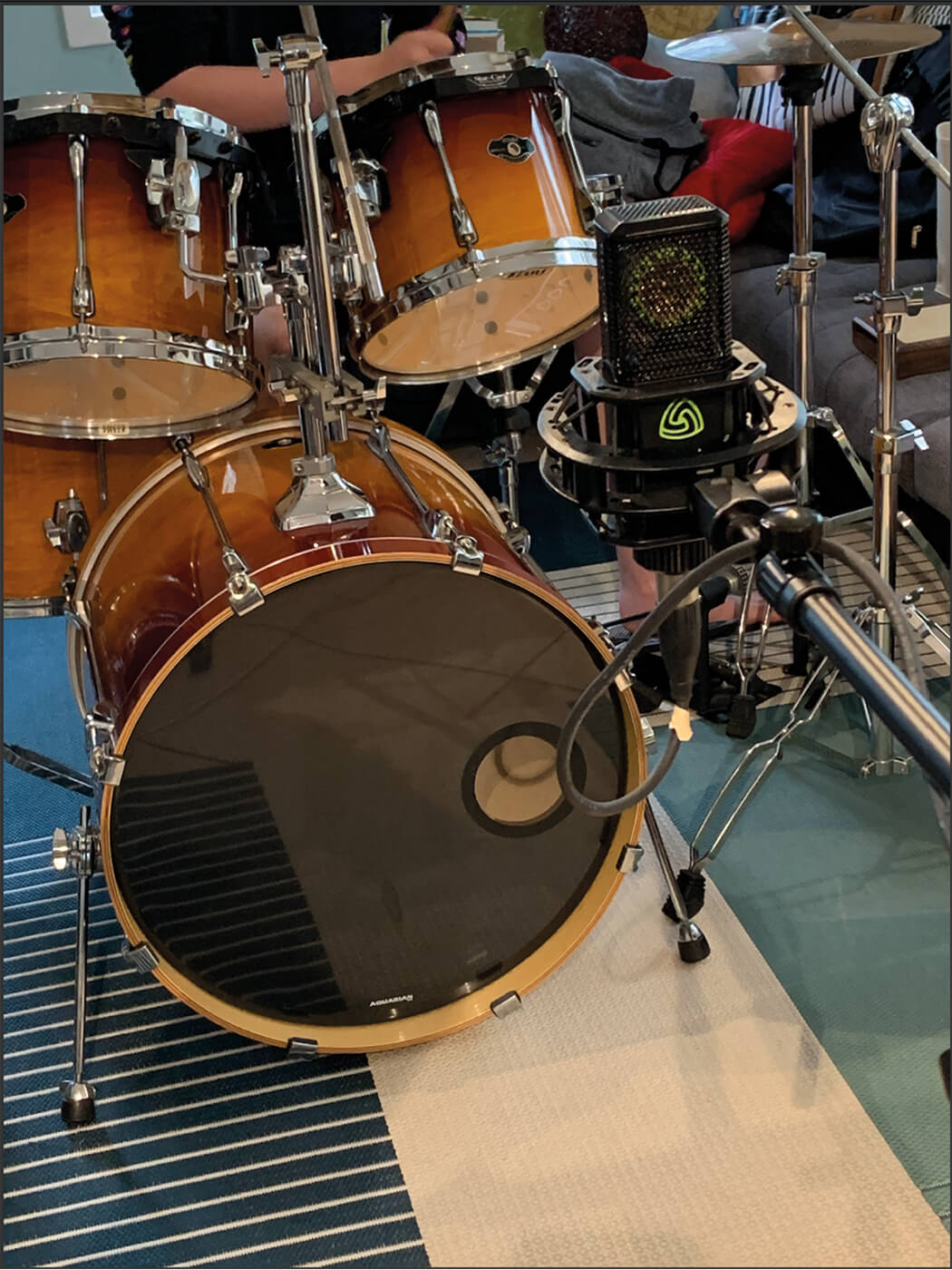 MT209 Sudio One Live Drums 3
