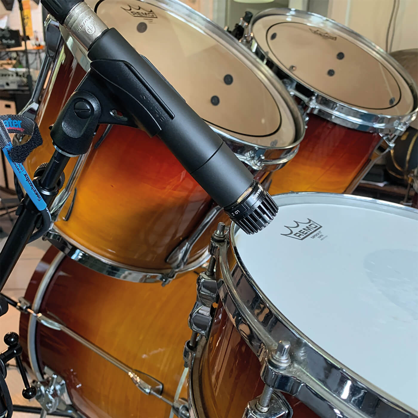 MT209 Sudio One Live Drums 8