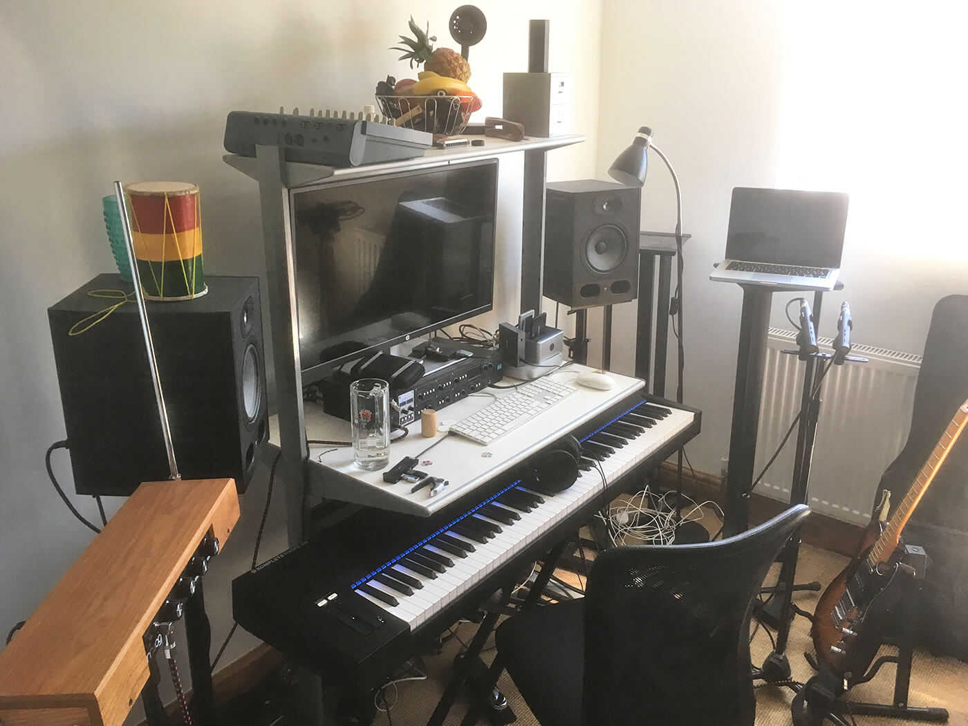 Paul's recording rig at home