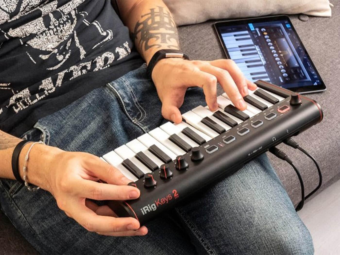 IK Multimedia's iRig Keys 2 Mini boasts ultimate portability   MusicTech