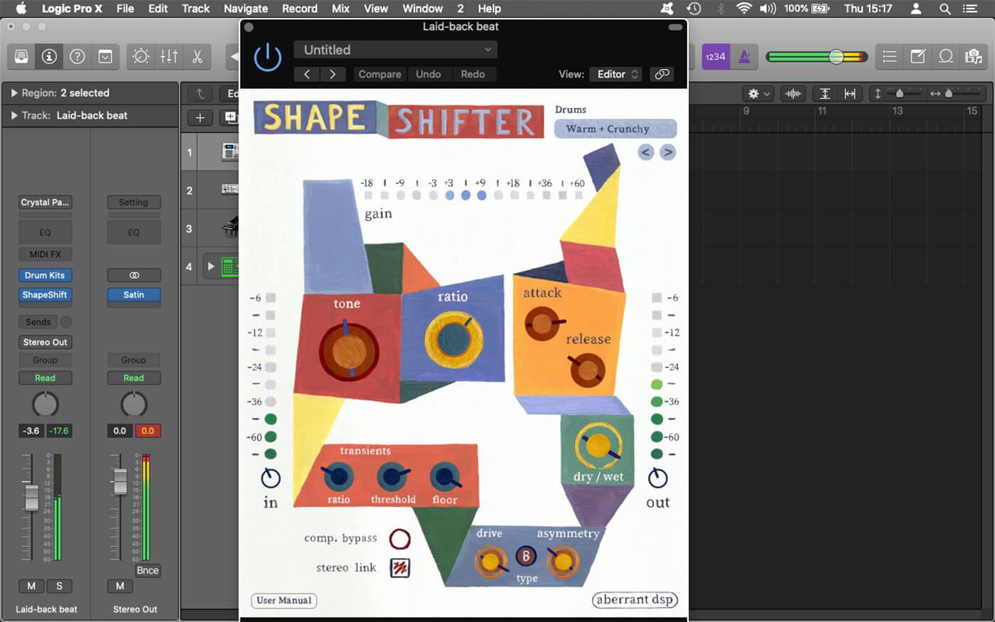Weekend Workshop Color Processing Shapeshifting 1