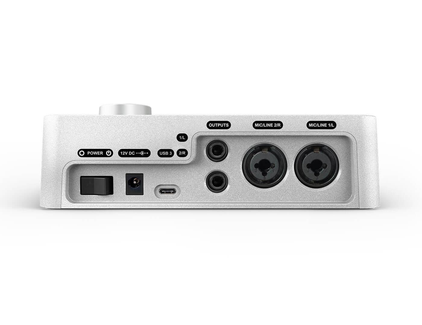 Universal Audio Apollo Solo USB Rear Panel
