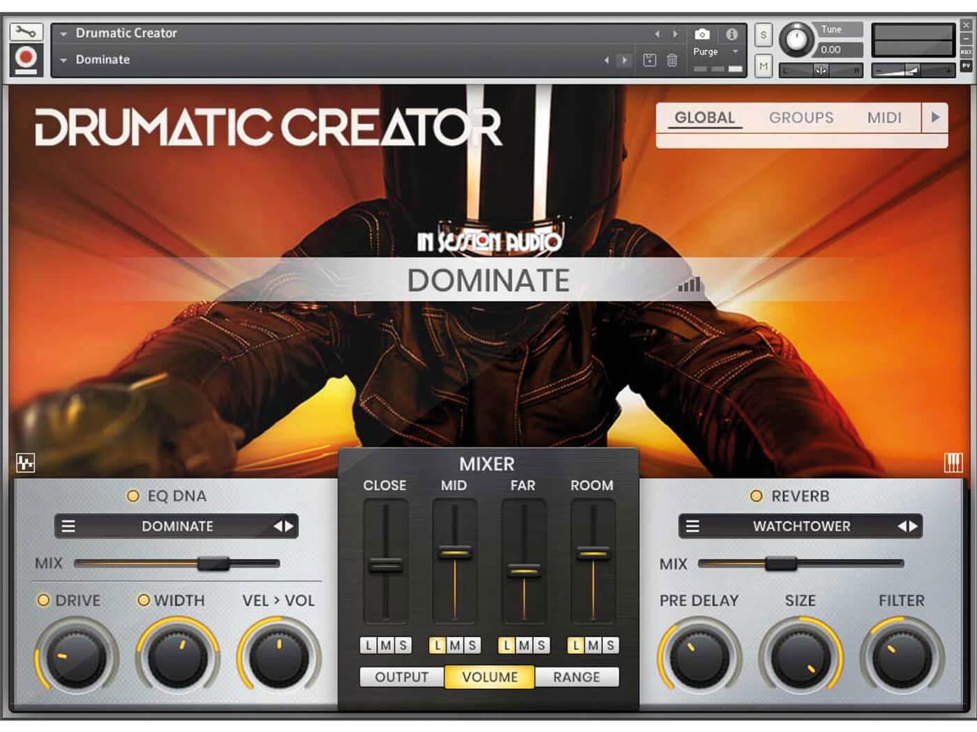 In Session Audio Drumatic Creator