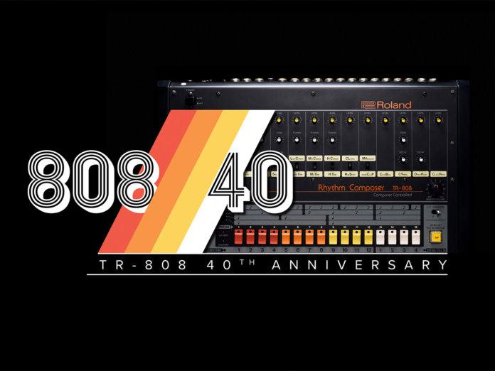 Roland TR-808 40th Anniversary