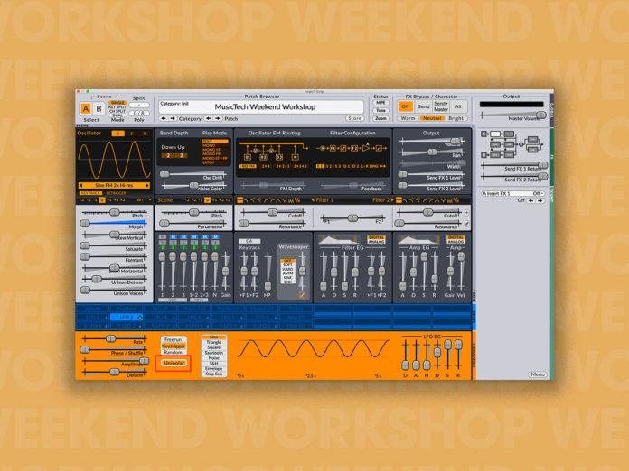 Weekend workshop Surge wavetables