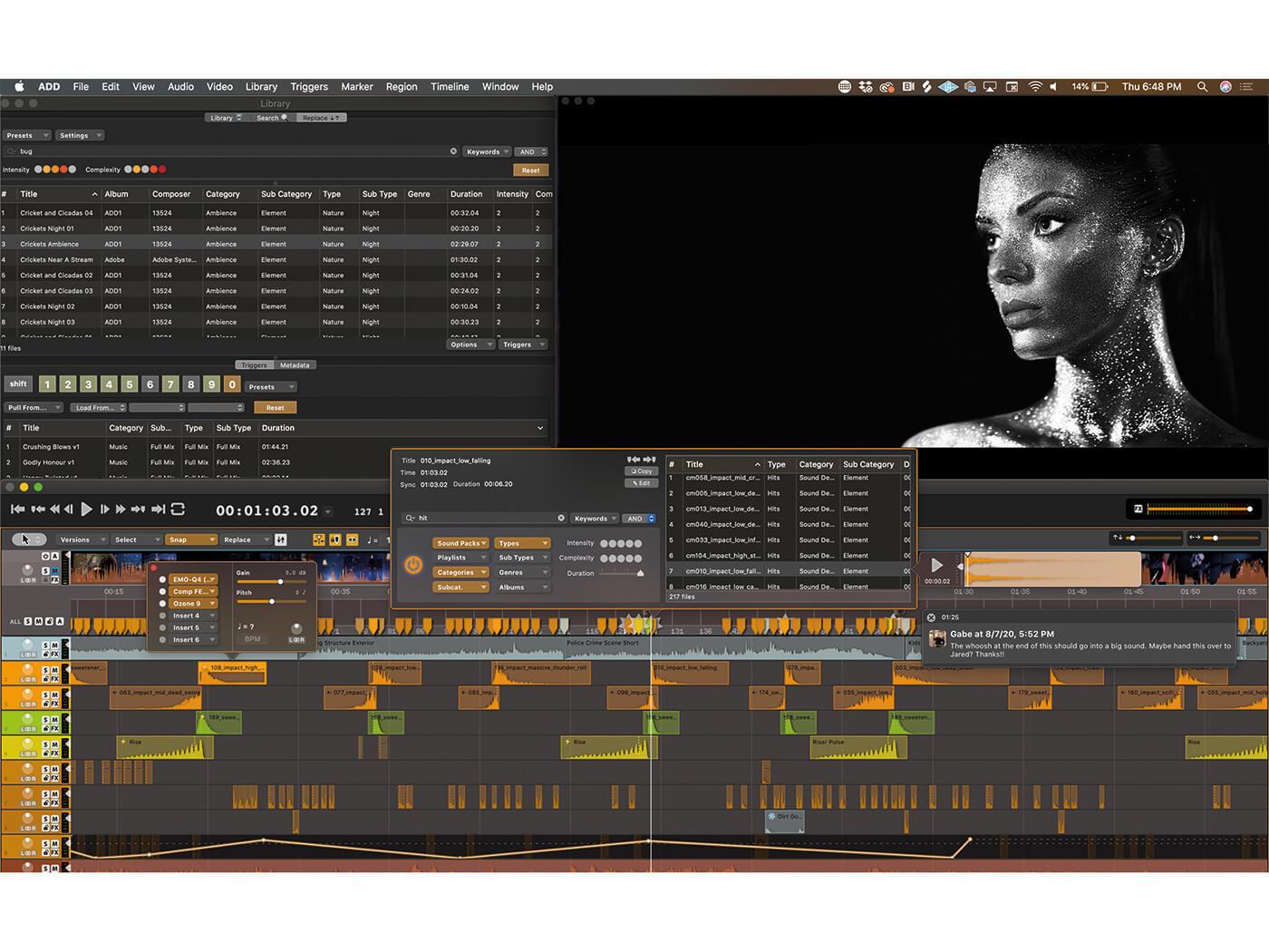 Audio Desk Design Layout SparkleGirl3