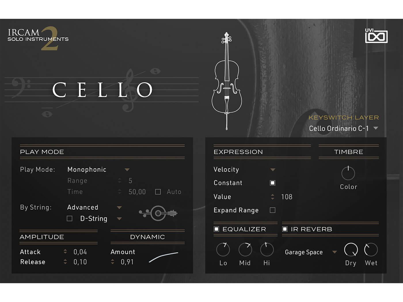 UVI IRCAM Solo Instruments 2 Cello