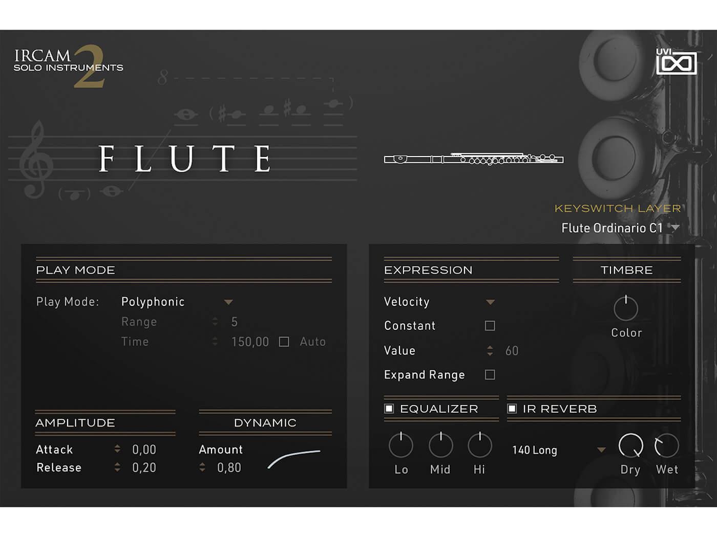 UVI IRCAM Solo Instruments 2 Flute