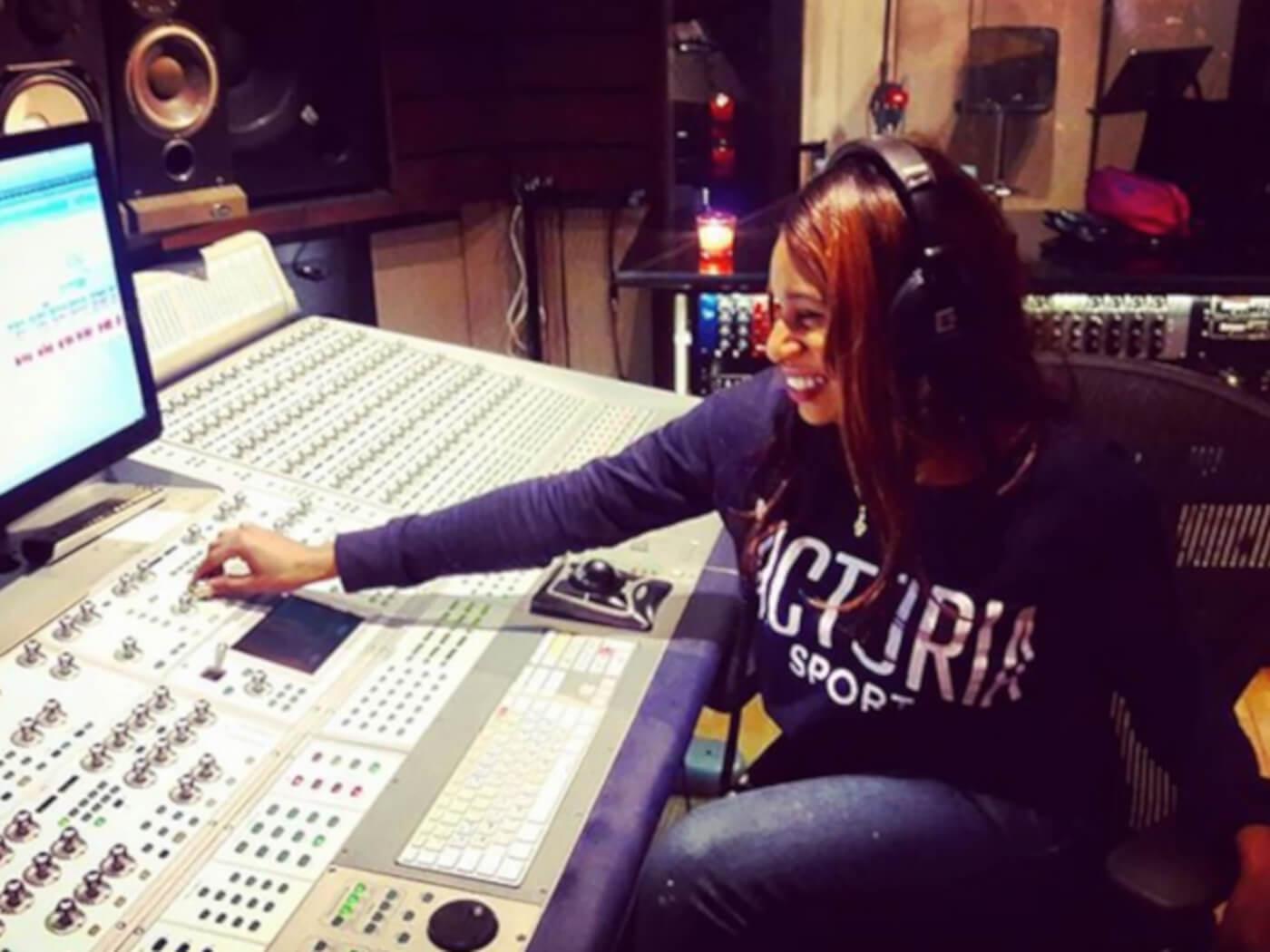 Lachi in Quad Recording Studio