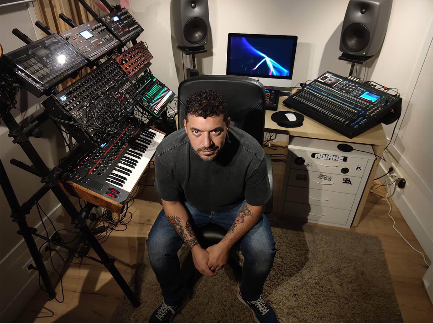 Show Off Your Studio: Luigi Madonna's humble techno playground   MusicTech