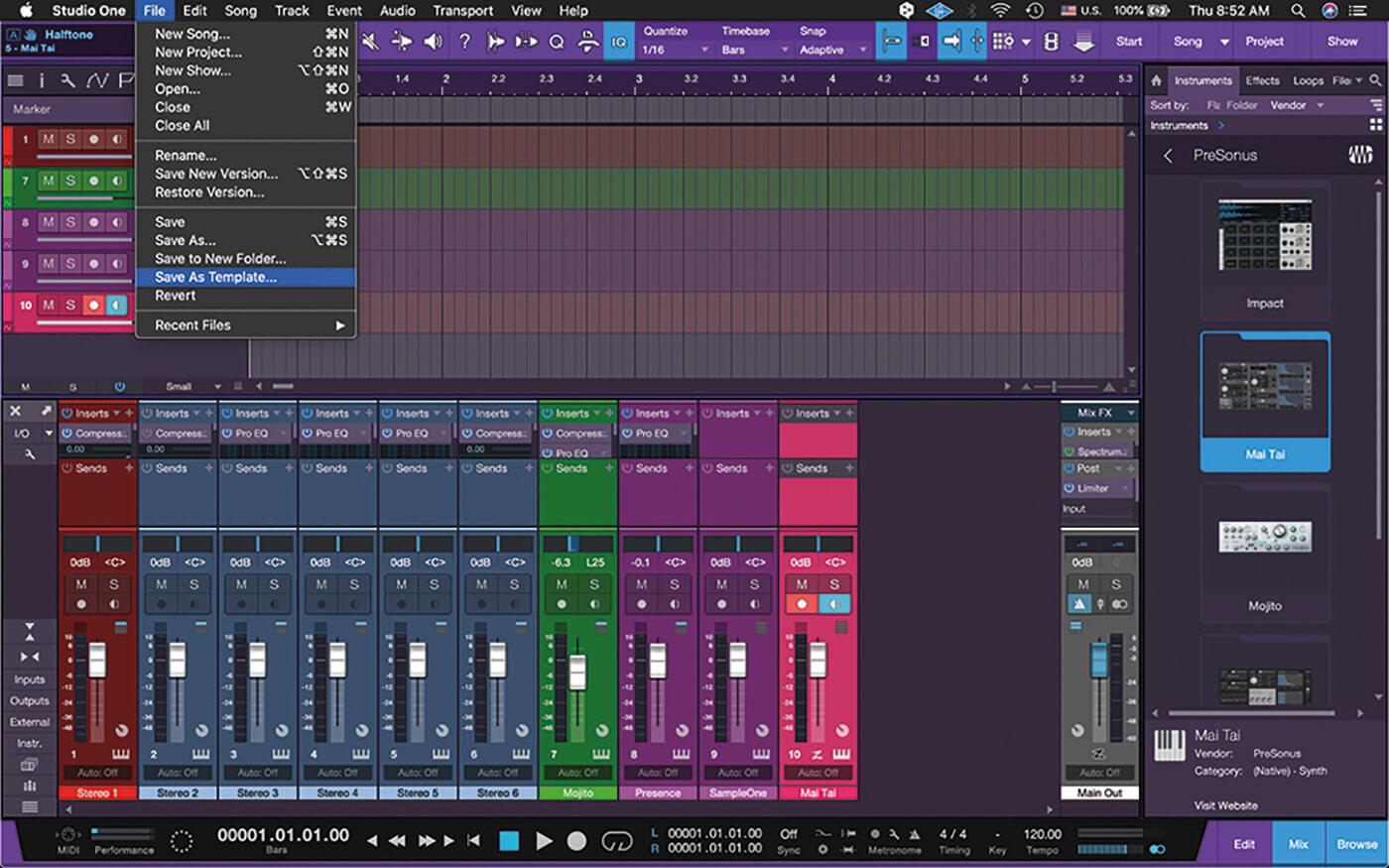 MT211 Studio One 5 Tips 10