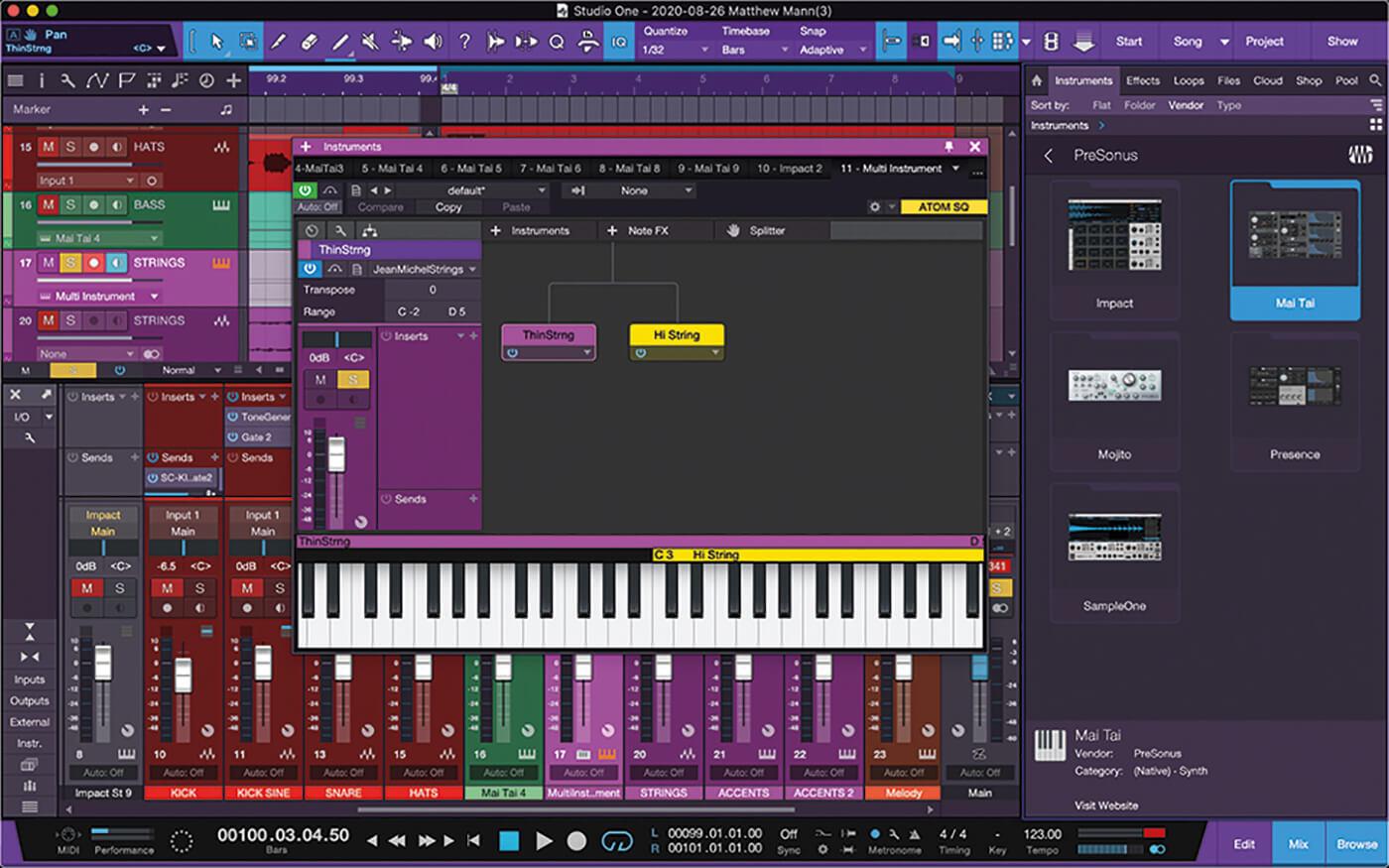 MT211 Studio One 5 Tips 5