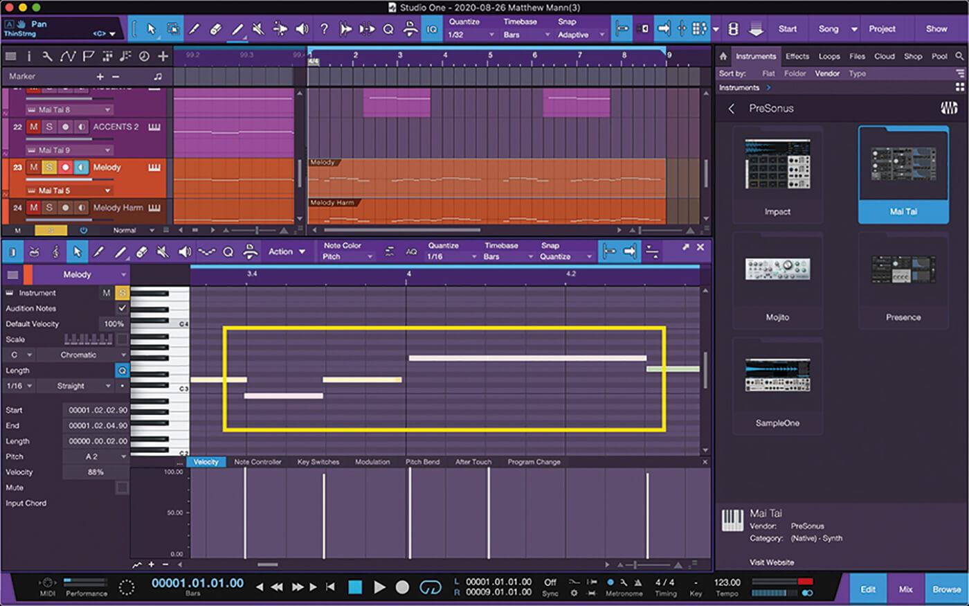 MT211 Studio One 5 Tips 8