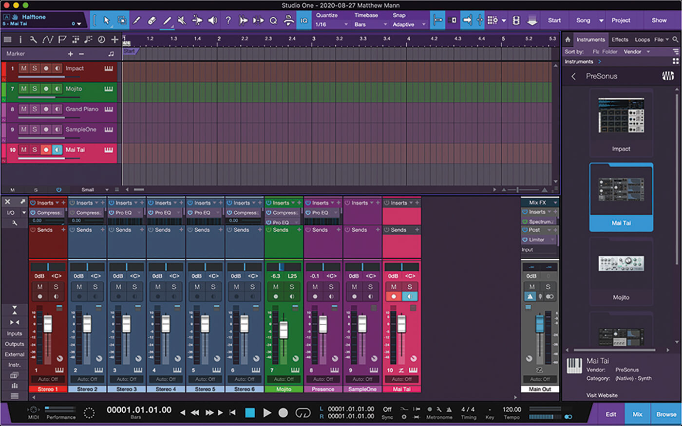 MT211 Studio One 5 Tips 9