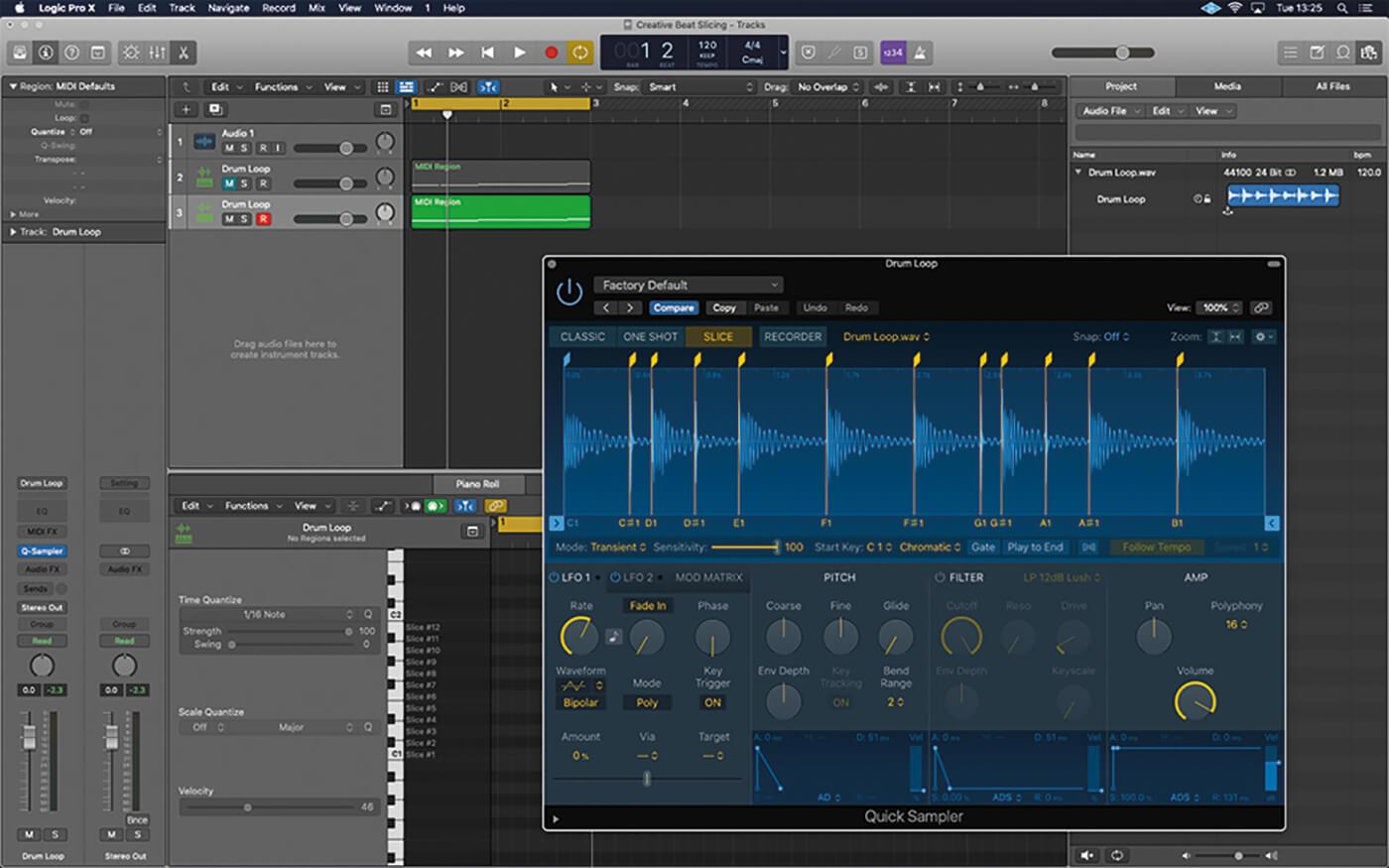 MT211 Logic Tutorial Workshop Creative Beat-Slicing 10