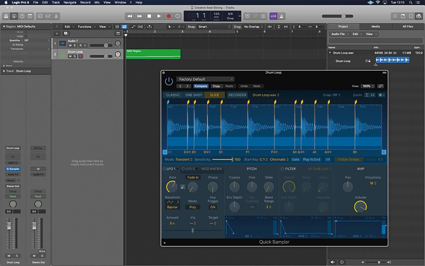 MT211 Logic Tutorial Workshop Creative Beat-Slicing 2