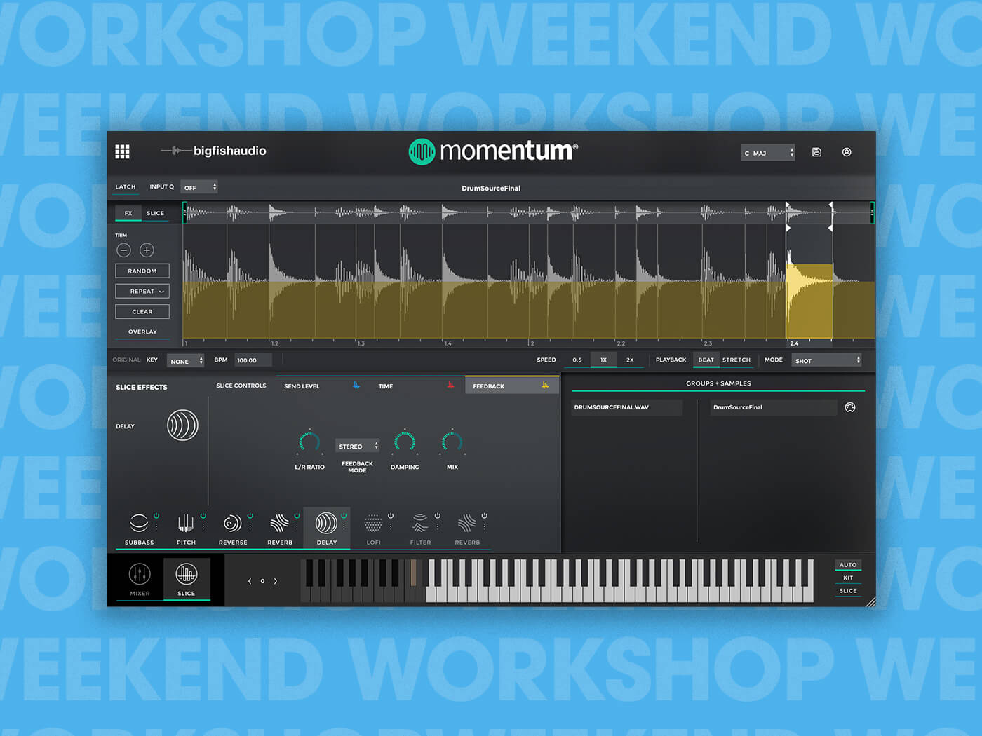 Weekend Workshop: Create glitchy beats with Momentum for free | MusicTech