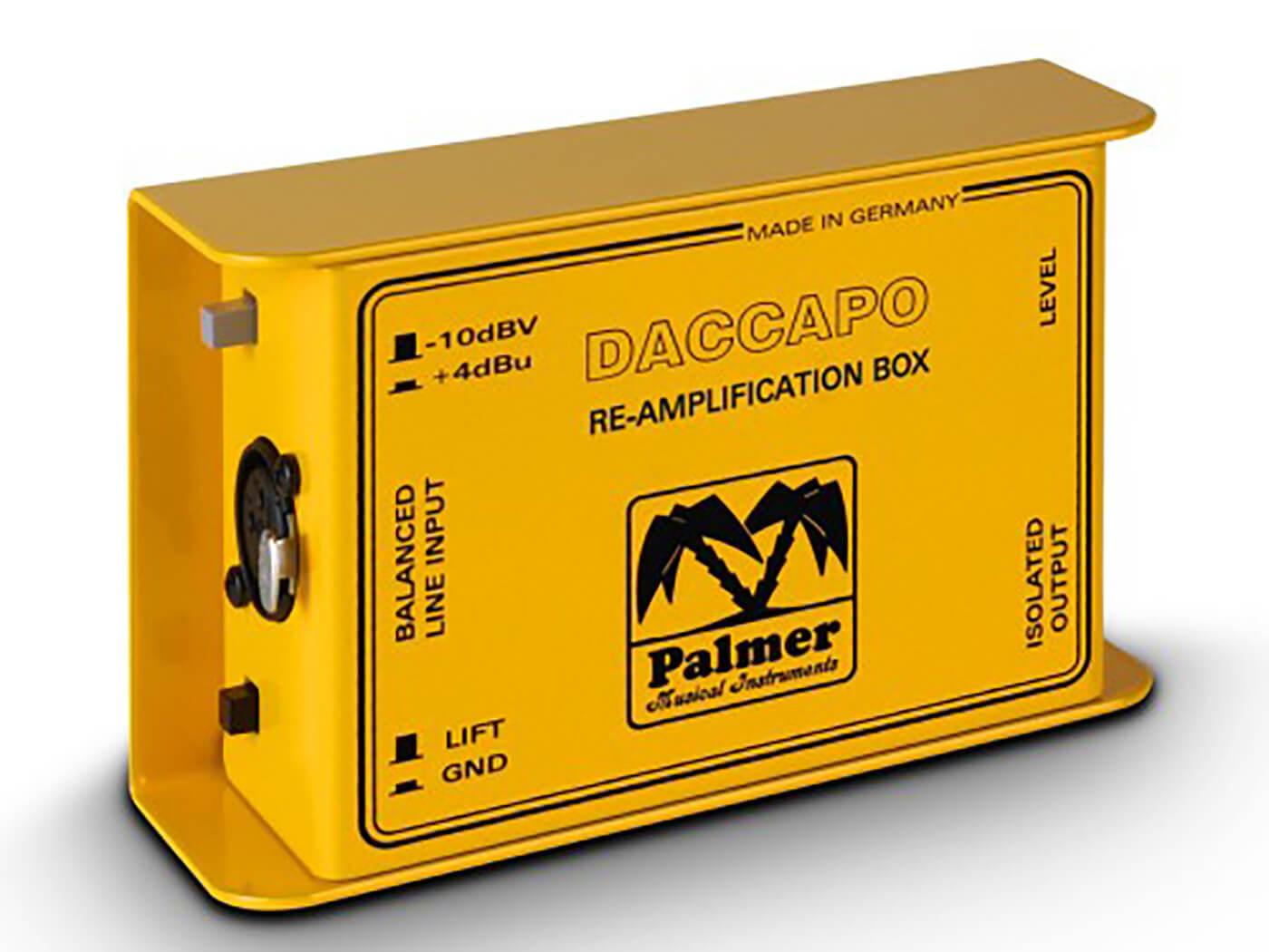 Palmer DACCAPO DI Box