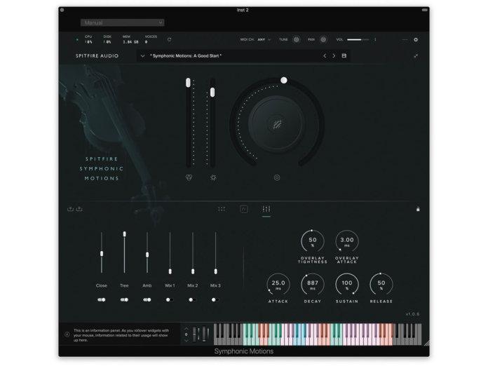 Spitfire Audio Symphonic Motions UI